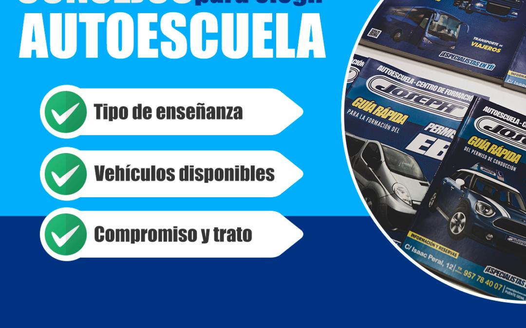 Consejos para elegir Autoescuela